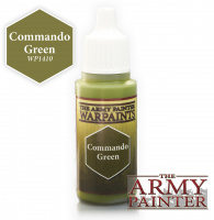 Фотография The Army Painter: Краска Commando Green (WP1410) [=city]