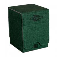 Фотография Blackfire Convertible Premium Deck Box Single Vertical 100+ Standard Size Cards - Green [=city]